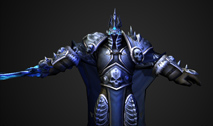 Arthas Dancing Skeletal Animation